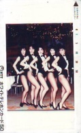 Télécarte Japon * EROTIQUE *   (6444)   EROTIC PHONECARD JAPAN * TK * BATHCLOTHES * FEMME SEXY LADY LINGERIE - Fashion