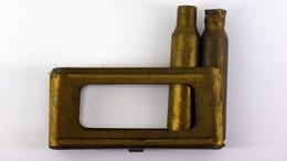 Lame-chargeur De 6.5mm Carcano Italien + 2 Douilles - WW2 - 1939-45