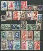 FRANCE: Obl., N° YT 568 à 598, Année Complète 1943 TB - 1940-1949
