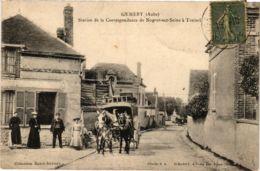 CPA GUMERY Station De La Correspondance De Nogent-sur-Seine A Trainel (863221) - Other Municipalities