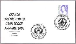 GRAN LOGIA ANUAL - GRAN ORIENTE DE ITALIA - Grande Oriente D'Italia. Rimini 2004 - Francmasonería