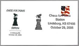 AJEDREZ POR LA PAZ - CHESS FOR PEACE. Lindsborg KS 2005 - Ajedrez