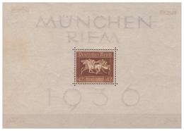 3.Reich: 1936: Block 4X, Falz - Deutschland