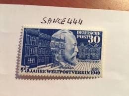 Germany UPU 1949 Mnh - Unused Stamps