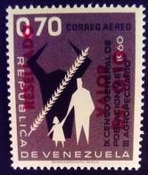 Venezuela 1965 Agriculture Surchargé Overprinted RESELLADO Yvert PA823 ** MNH - Madagaskar (1960-...)