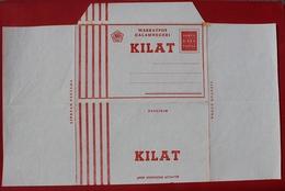 Indonesia Local Aerogramme Stamped Stationary AVION.KILAT Unused Mint - Indonesien