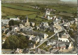 Aubange -- Centre Bourg. - Vue Aérienne.       ( 2 Scans ) - Aubange