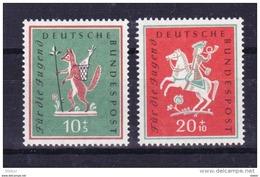 Duitsland 1958 Nr 157/58 **, Zeer Mooi Lot Krt 3733 - [7] République Fédérale