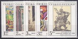 ** Tchécoslovaquie 1979 Mi 2534-8 (Yv 2360-4), (MNH) - Czechoslovakia