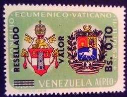 Venezuela 1965 Armoiries Arms Surchargé Overprinted RESELLADO Yvert PA829 ** MNH - Madagaskar (1960-...)