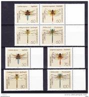 Duitsland 1991 Nr 1373/80 **, Zeer Mooi Lot Krt 3757 - Timbres