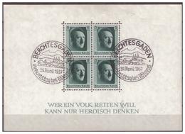 3.Reich: 1937: Block 7, Gestempelt - Deutschland