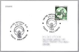 FESTA DELL'UNITA - Partido Democratico Della Sinistra - Partido Democrata De Izquierda. Imperia, Italia, 1997 - Otros