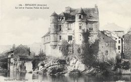 Espalion (Aveyron) - Le Lot Et L'ancien Palais De Justice - Carte P. Carrère N° 169 Non Circulée - Espalion