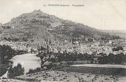 Espalion (Aveyron) - Vue Générale - Carte P. Carrère N° 25 Non Circulée - Espalion