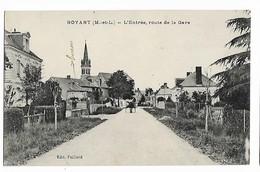 Noyant - L'Entrée, Route De La Gare - Frankrijk