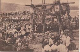 57 - BITCHE - POSE DE LA 1ère PIERRE DU COLLEGE SAINT AUGUSTIN LE 28.07.1926 - Bitche