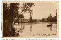 Rhode St. Genèse - Sept Fontaines - Un Coin Des étangs - 2 Scans - Rhode-St-Genèse - St-Genesius-Rode