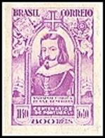 BRAZIL # 506 - Centenaries Of Portugal - Salvador Corrêa De Sá E Benevides  800$R  - 1941 - Unused Stamps