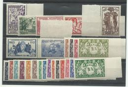 Guyane 143/148 - 149 - 182/200, Neufs ** MNH, Cote YT 57€80 - Guayana Francesa (1886-1949)