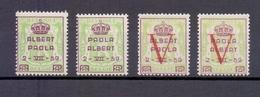 PR 129/32 PRINS ALBERT EN PRINSES PAOLA  POSTFRIS** 1959 - Erinnophilie