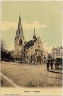 SCEAUX  /  Place  De  L ' Eglise  /  Belle  Carte  Toilée - Sceaux
