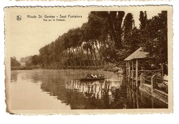 Rhode St. Genèse - Sept Fontaines - Vue Sur Le Château - 2 Scans - Rhode-St-Genèse - St-Genesius-Rode