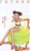 Télécarte Japon * EROTIQUE *   (6481)   EROTIC PHONECARD JAPAN * TK * BATHCLOTHES * FEMME SEXY LADY LINGERIE - Mode