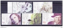 Duitsland 2001 Nr 2050/54 G, Zeer Mooi Lot Krt 3732 - Timbres