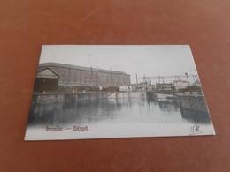 BRUXELLES  Entrepot Couleur Obl 1903 - Monuments, édifices