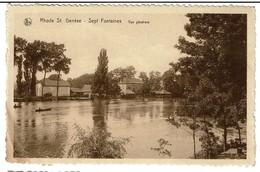 Rhode St. Genèse - Sept Fontaines - Vue Générale - 2 Scans - Rhode-St-Genèse - St-Genesius-Rode