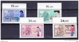 Duitsland 1987 Nr 1147/50 **, Zeer Mooi Lot Krt 3759 - Francobolli