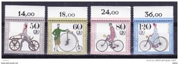 Duitsland 1985 Nr 1074/77 **, Zeer Mooi Lot Krt 3760 - Timbres