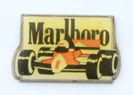 Pin's MARLBORO - La Formule 1 N° 1 - Zamac - I367 - Car Racing - F1