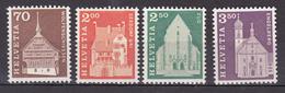 N° 795 à 798 Série Courante: Belle Série De Timbre Neuf Impeccable Sans Charnière - Suisse