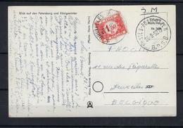N°TX58 GESTEMPELD OP KAART VANUIT Duitsland 1952 COB € +30,00 - Covers