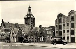 Cp Meppel Drenthe Niederlande, Kleine Oever, Kirche, Giebelhäuser - Pays-Bas