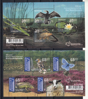 Nederland 2005 Nvph Nr. 2235 + 2236, Mi Nr Blok 85 + 86, Natuur Naardermeer , Postfris - Periode 1980-... (Beatrix)