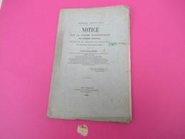 Notice Sur Le Champ D'expériences Du Comité Central D'Etude Et De Vigilance Du PHYLLOXERA/BouchesduRhone/ 1882   MDP110 - Libri, Riviste, Fumetti