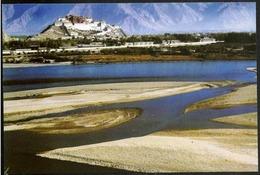 Cina/China: Intero, Stationery, Entier, Tibet, Lhasa, Fiume, River, Riviere - Geografia