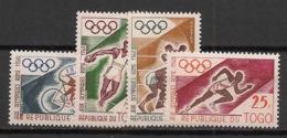 Togo - 1960 - N°Yv. 303 à 306 - Rome / Olympics - Neuf Luxe ** / MNH / Postfrisch - Verano 1960: Roma
