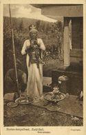 Indonesia, BALI, Bratan Temple Ceremony, Siva Priest (1920s) Postcard - Indonesia