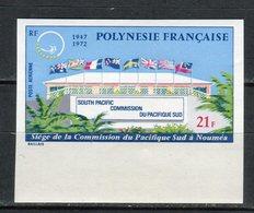 Polinesia Francesa 1972. Yvert A 62 Imperforated ** MNH. - Non Dentelés, épreuves & Variétés