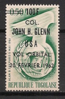 Togo - 1962 - N°Yv. 354 - John Glenn - Surch. Noire - Neuf Luxe ** / MNH / Postfrisch - Afrika