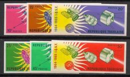 Togo - 1964 - N°Mi. 446B à 451B - Soleil Calme - Non Dentelé / Imperf. - Neuf Luxe ** / MNH / Postfrisch - Afrika