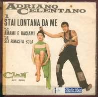 Adriano Celentano 45t Stai Lontana Da Me  3 Songs (clan 24001 Italy) Pochette Ouvrante Elle A été Recollé Vg- Ex1 - Sonstige - Italienische Musik