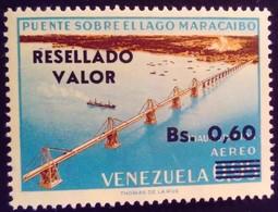 Venezuela 1965 Pont Bridge Surchargé Overprinted RESELLADO Yvert PA856 ** MNH - Madagascar (1960-...)