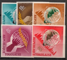 Togo - 1965 - N°Yv. 461 à 465 - Expo New York - Non Dentelé / Imperf. - Neuf Luxe ** / MNH / Postfrisch - Afrika