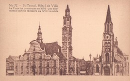 Sint Truiden St Trond Hotel De Ville Erekaart Carte D'honneur (7 X 12 Cm !!!) Edit U.C. Liège - Sint-Truiden