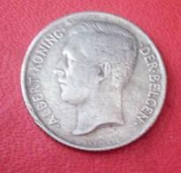 BELGIQUE 50 Cents 1911 Albert        N° 133 D - 1909-1934: Albert I